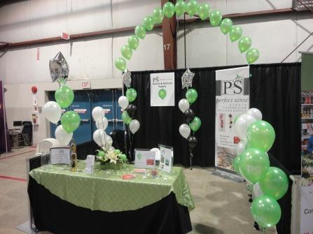 Balloons for tradeshows
