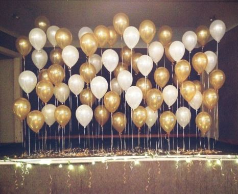 Balloon backdrop