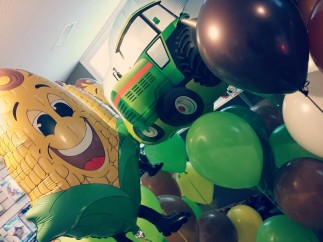 Agriculture balloons