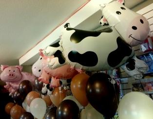 Farm Animal balloons